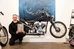Alan Richards and His Custom Motorcycle