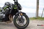 Front Wheel of the Kawasaki Z900 ABS