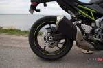 Back Wheel of the Kawasaki Z900 ABS