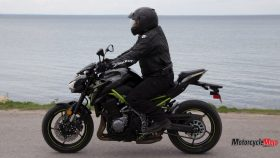 Riding the Kawasaki Z900 ABS by the Water