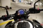 Speedometer of the Kawasaki Z900 ABS