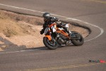 Riding a 2015 KTM Super Duke 1290R By a Sandy Highway