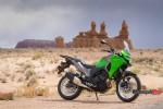 The 2017 Kawasaki Versys-X 300 in the Desert