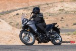 Riding The 2017 Kawasaki Versys-X 300 on a Desert Highway