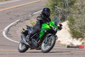 Riding The 2017 Kawasaki Versys-X 300 across the desert