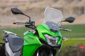 Throttles of the The 2017 Kawasaki Versys-X 300