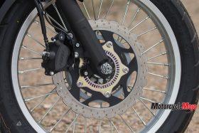 Front Wheel of the 2017 Kawasaki Versys-X 300