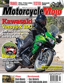 Motorcycle Mojo August 2017