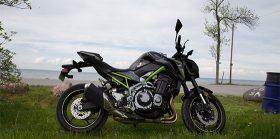 The Kawasaki Z900 ABS