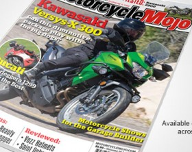 Motorcycle Mojo Curved Cover August 2017