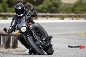 Rolling Down the Highway on the 2017 Harley Davidson Street Rod