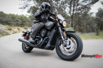 Casual Ride on the 2017 Harley Davidson Street Rod