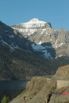 The Mountain Range of Glacier National Park