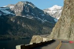 Riding on the Highway to Glacier National Park