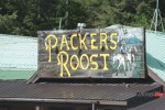 Packers Roost Sign in Montana