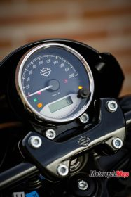 The Dashboard of the 2017 Harley Davidson Street Rod