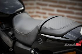 The Seat of the 2017 Harley Davidson Street Rod