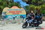 Riding to Anna Maria Island in South Florida