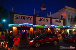 Visiting Sloppy Joe's Bar in Florida