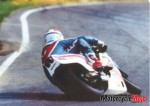 Fast Freddie Spencer Riding on the Track