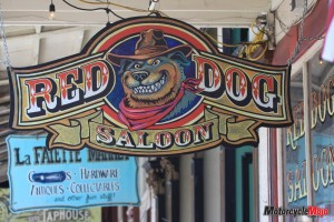 Visiting the Red Dog Saloon in Nevada