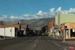 Riding in Virginia City in Nevada