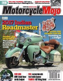 Motorcycle Mojo November 2017 Cover