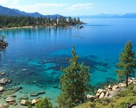 Peaceful Lake in Nevada