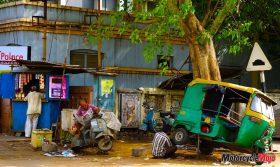 Repairing a Cart in India