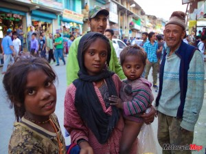 Meeting Local People in India