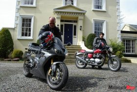 Preparing for A Motorcycle Voyage