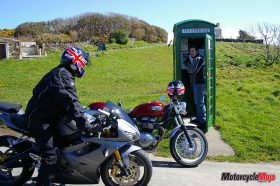 Calling in a Phone Booth in Cregneash