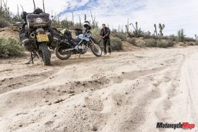 Getting Ready to Ride Through Baja on Motorcycles