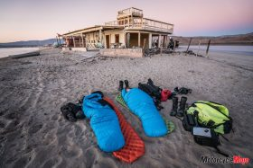 Sleeping in Sleeping Bags in Baja