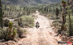 Riding a Motorcycle Through Baja