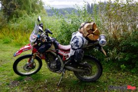Packing Up the Motorcycle to Travel