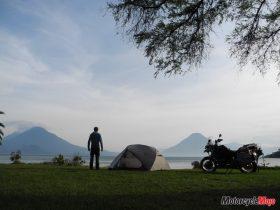 Sunrise at Lake Lake Atitlan