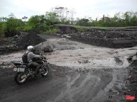 Motocycle Riding on the Muddy Trails of Guatemala
