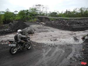 Motocycle Riding on the Muddy Trails of Guatemala