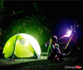 Camping Late at Night