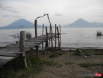 A Small Dock on Lake Atitlan in Guatemala