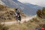 Riding a Motorcycle Off Road in Spain