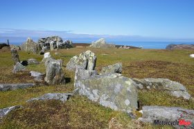 A Stone Circle on The Isle of Man