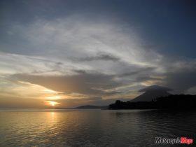 A Beautiful Ometepe Island Sunset