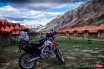 Motorcycle Camping in Leh Manali Pass