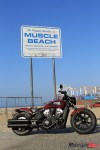 2018 Indian Bobber at Muscle Beach