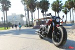2018 Indian Bobber at the Beach