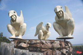Statues in Carlton-Sur-Mer Quebec