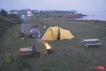 Camping by the Grande Riviere