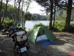 Camping in Jordan River